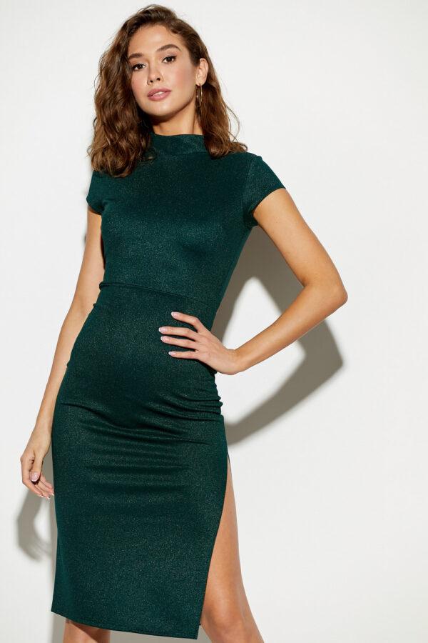 Платье Амона Темно-зеленый Karree