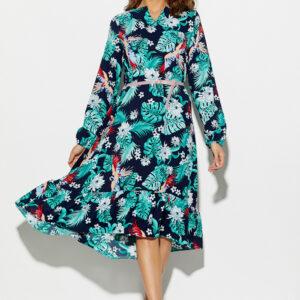 Платье Оазис Темно-синий Karree купить Платье