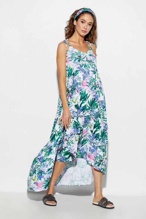 Платье Тропикано Синий Karree
