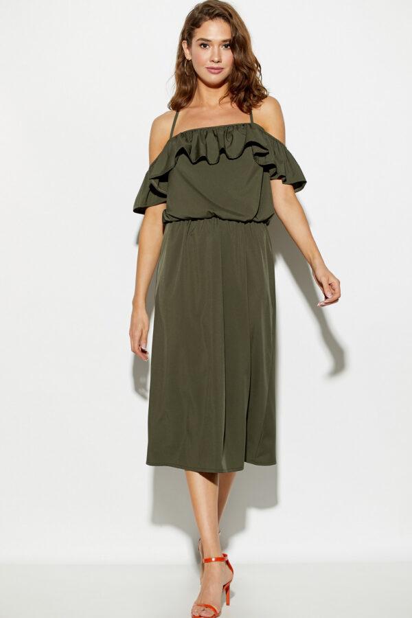 Платье Мори Хаки Karree