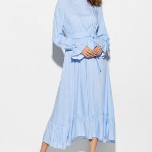 Платье Миндаль Голубой Karree купить Платье
