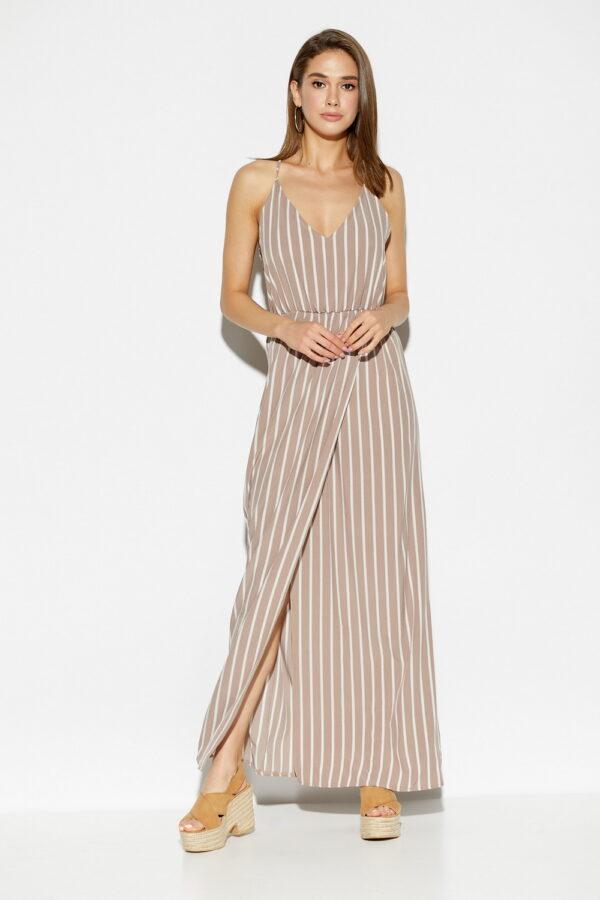 Платье Санторини Темно-бежевый Karree