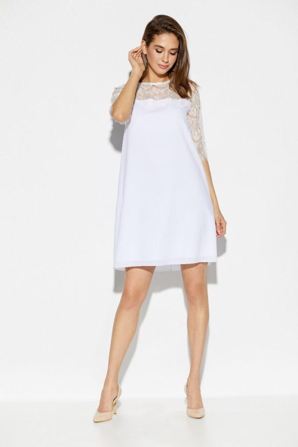 Платье Скай Белый Karree