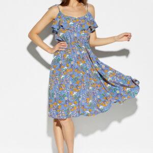 Платье Аква Синий Karree купить Платье