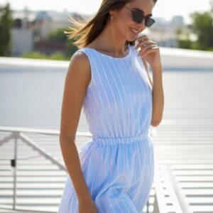 Платье Анаконда Голубой Karree купить Платье