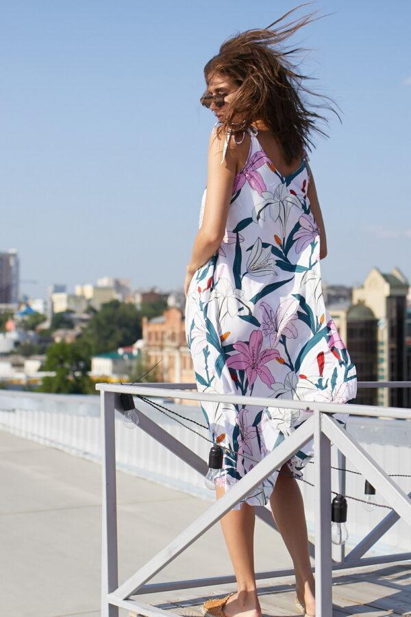 Платье Лилиан Белый Karree