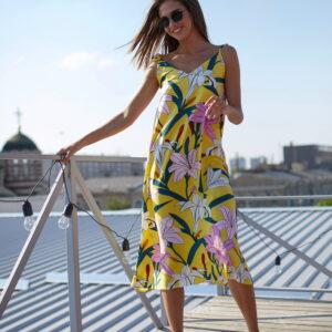 Платье Лилиан Желтый Karree купить Платье