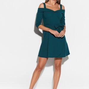 Платье Алия Темно-зеленый Karree купить Платье