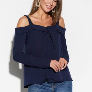 Блуза Кори Темно-синий Karree купить Блуза