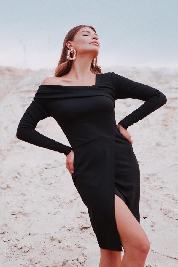 Платье Космо Черный Karree