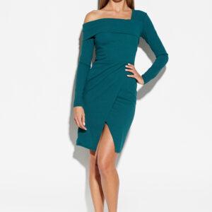 Платье Космо Темно-зеленый Karree купить Платье
