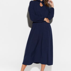 Платье Юста Темно-синий Karree купить Платье