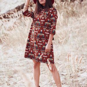 Платье Рикко Комбинированный Karree купить Платье