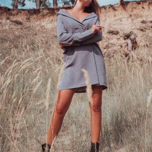 Платье Лиман Серый Karree купить Платье