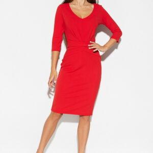 Платье Монин Красный Karree купить Платье