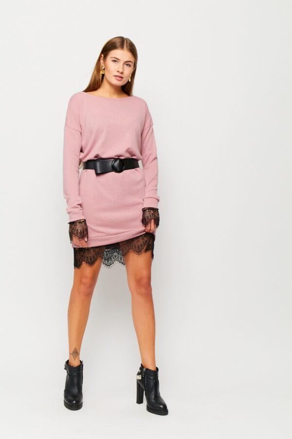 Платье Сантос Пыльно-розовый Karree