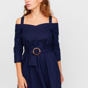 Платье Майя Темно-синий Karree купить Платье