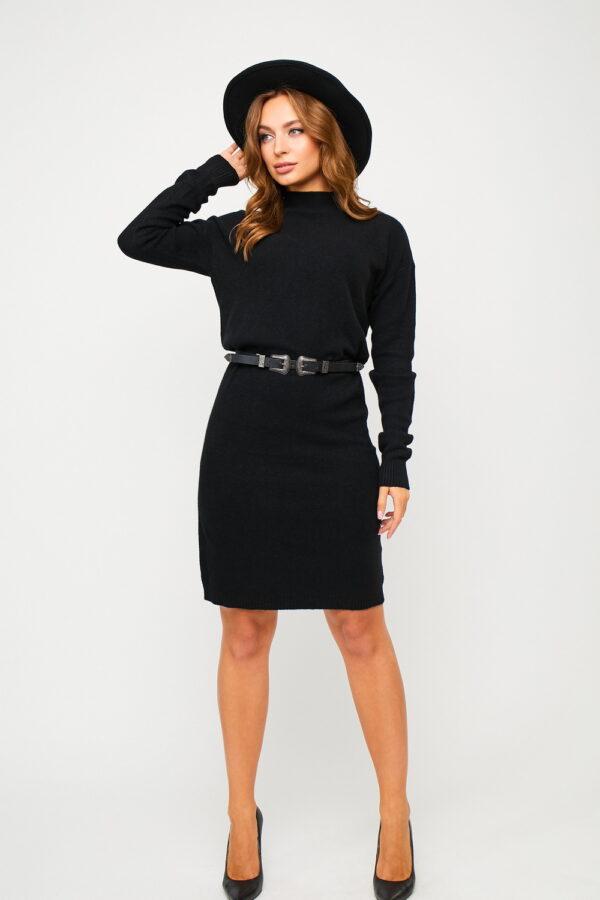 Платье Лора Черный Karree