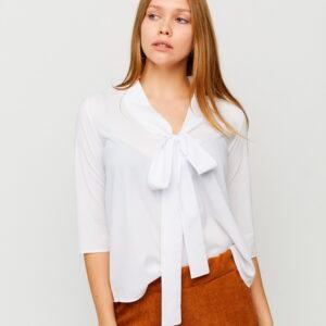 Блуза Глория Белый Karree купить Блуза