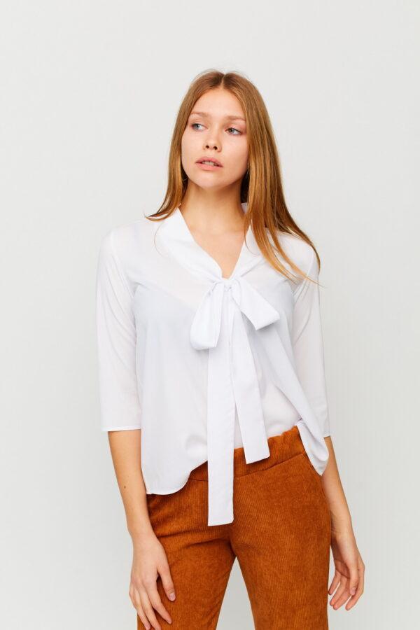 Блуза Глория Белый Karree
