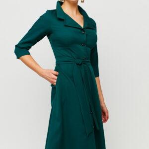 Платье Премиум Темно-зеленый Karree купить Платье