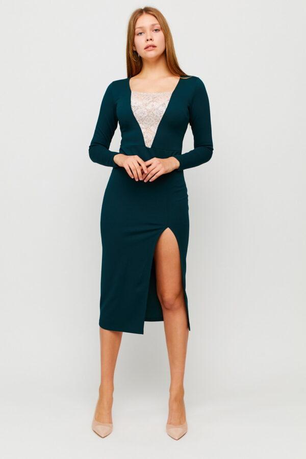 Платье Тоскана Темно-зеленый Karree