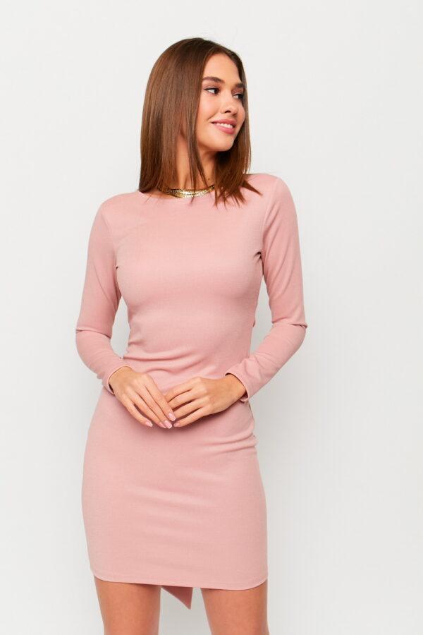 Платье Нуар Пудровый Karree