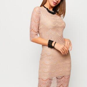 Платье Совиньон Бежевый Karree купить Платье