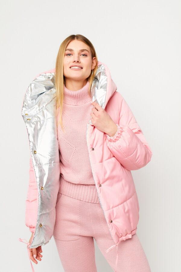 Куртка Дени Розовый Karree