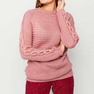 Свитер Ливия Пыльно-розовый Karree купить Свитшот