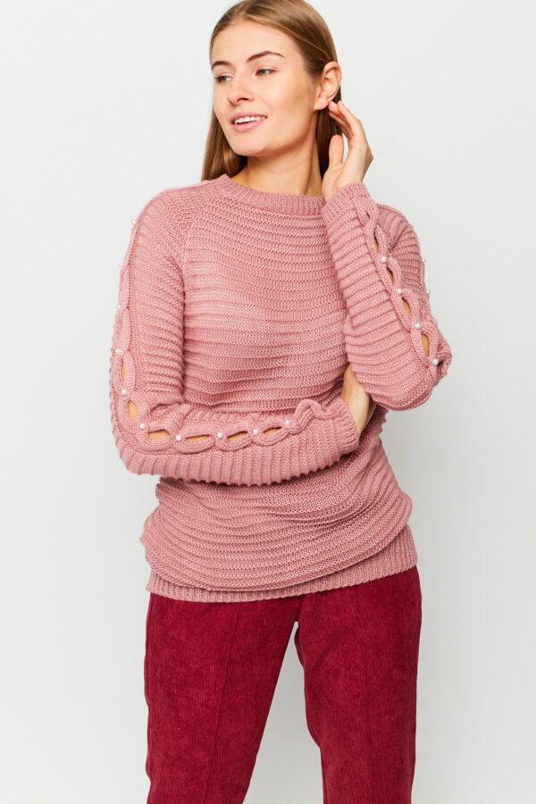 Свитер Ливия Пыльно-розовый Karree