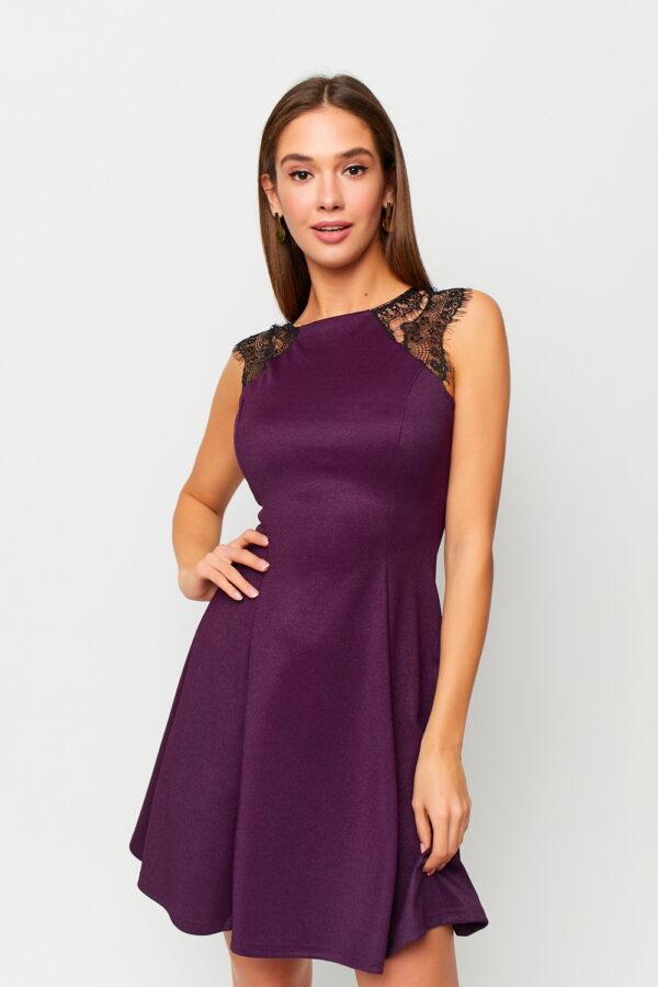 Платье Брют Фиолетовый Karree
