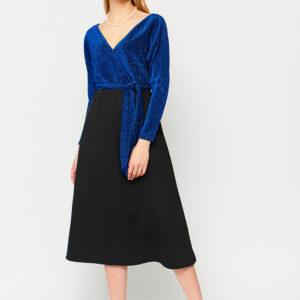 Платье Надин Синий Karree купить Вечернее платье
