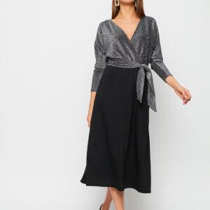 Платье Надин Серебро Karree купить Вечернее платье
