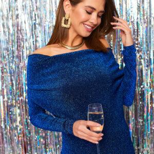 Платье Теона Синий Karree купить Вечернее платье
