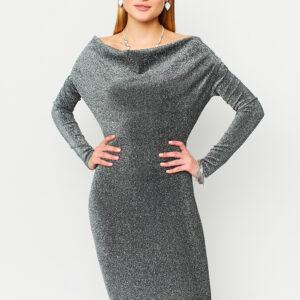 Платье Теона Серебро Karree купить Вечернее платье