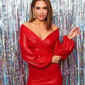 Платье Асти Красный Karree купить Вечернее платье