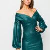 Платье Асти Зеленый Karree