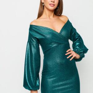 Платье Асти Зеленый Karree купить Вечернее платье