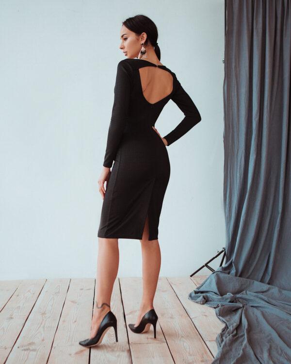 Платье Сола Черный Karree