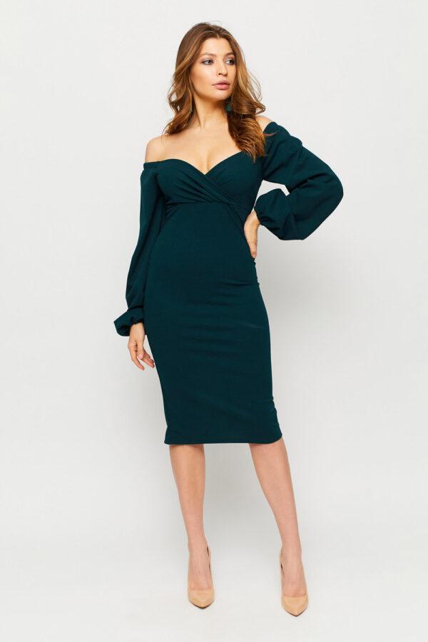 Платье Ивонн Зеленый Karree