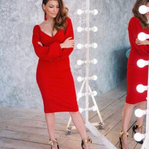 Платье Ивонн Красный Karree купить Платье