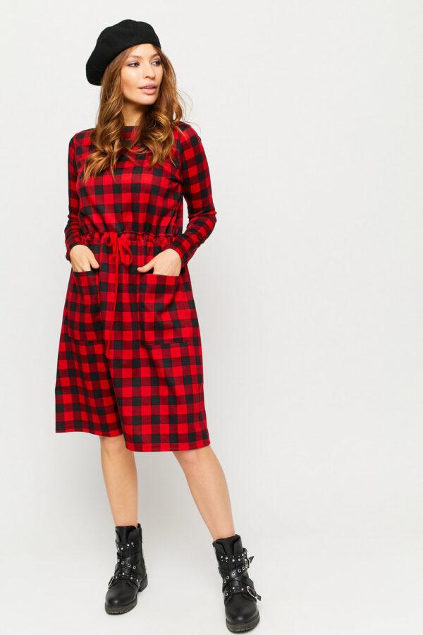Платье Тулон Красный Karree
