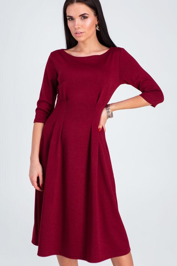 Платье Каен Марсала Karree