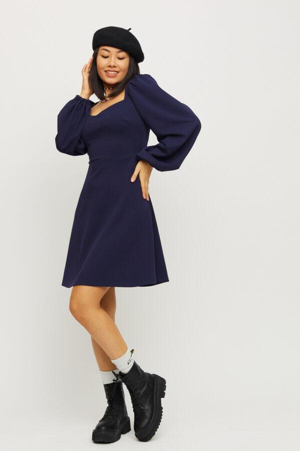 Платье Пальмира Темно-синий Karree