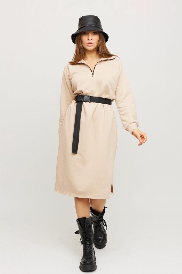 Платье Левона Бежевый Karree