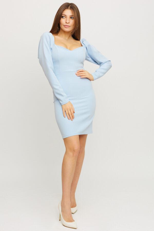 Платье Есмин Голубой Karree