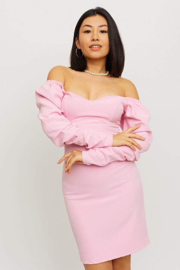 Платье Есмин Розовый Karree