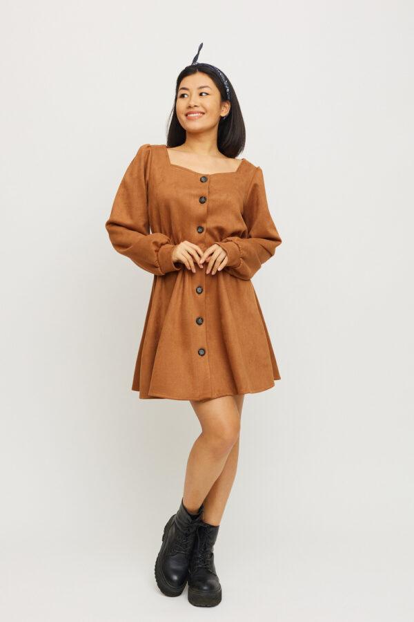 Платье Берта Шоколадный Karree