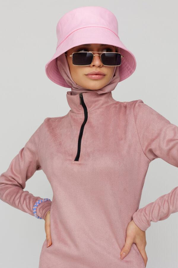 Панама Ферди Розовый Karree